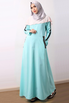 Delisha Slit Cape Dress with Pocket